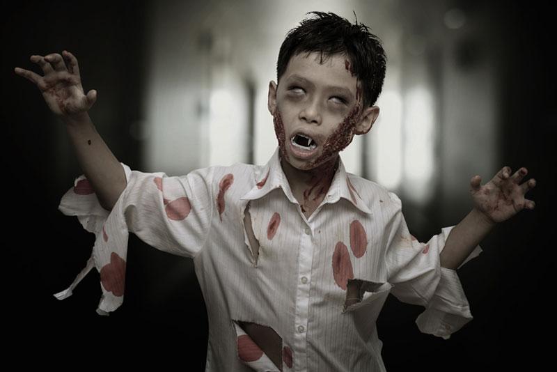 Maquillaje Zombie Niños