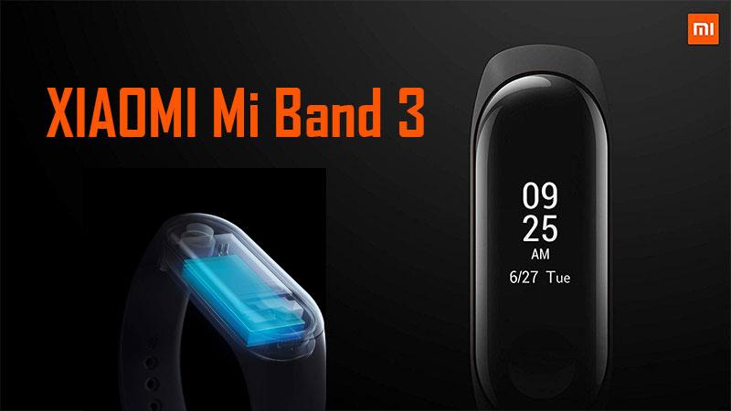 Pulsera de inteligente Xiaomi Mi Band 3